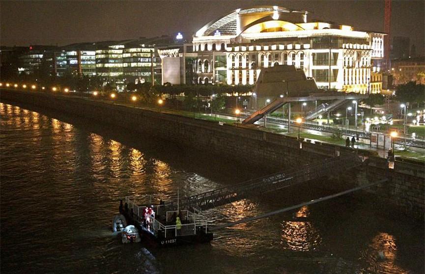 Капитан затонувшего в Будапеште судна задержан