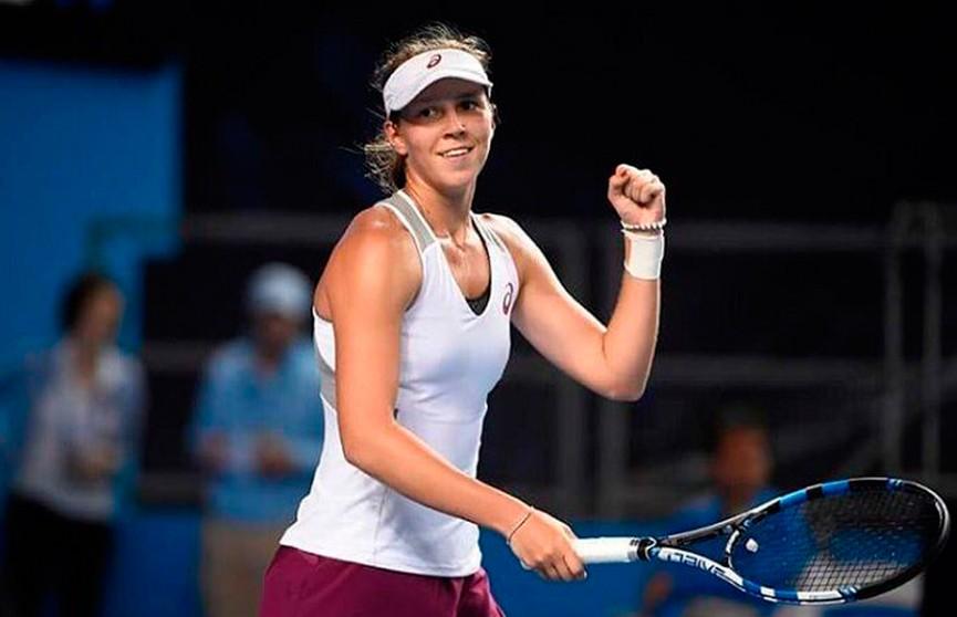 Белорусская теннисистка Вера Лапко не смогла преодолеть первый круг квалификации престижного теннисного турнира в Монреале