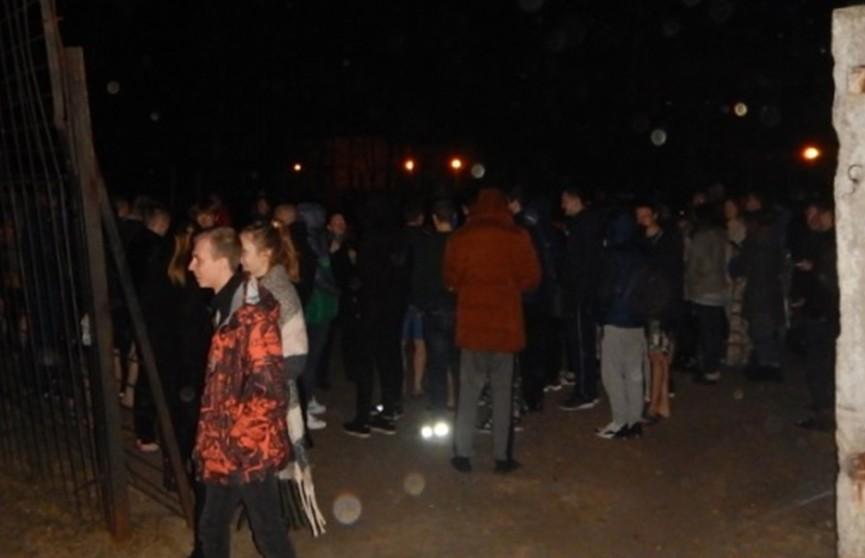 Пожар в общежитии Полоцкого госуниверситета: эвакуированы 286 студентов