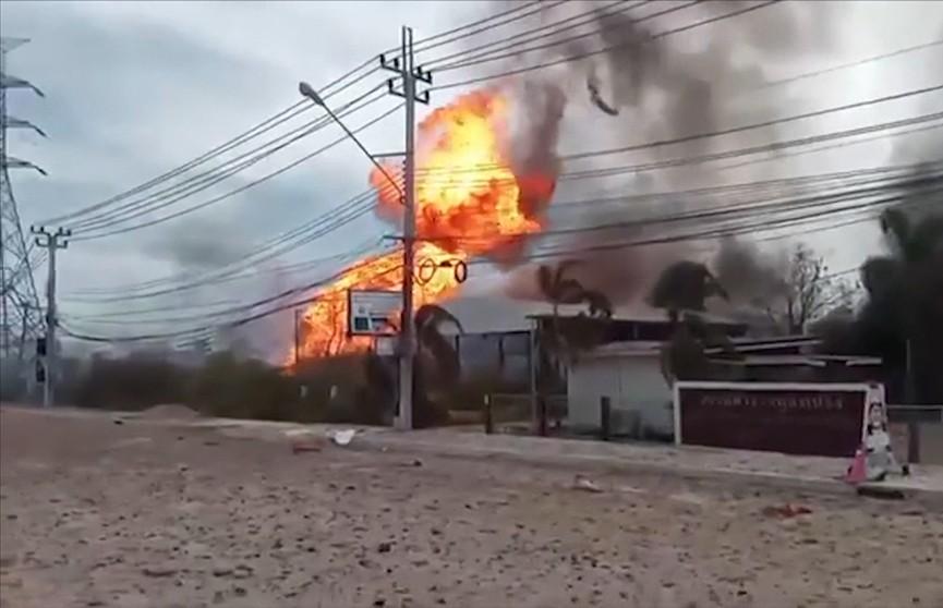 Взрыв газопровода в Таиланде: два человека погибли, 30 получили ранения