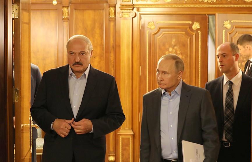 Россия и Беларусь договорились о поставках газа на условиях 2019 года