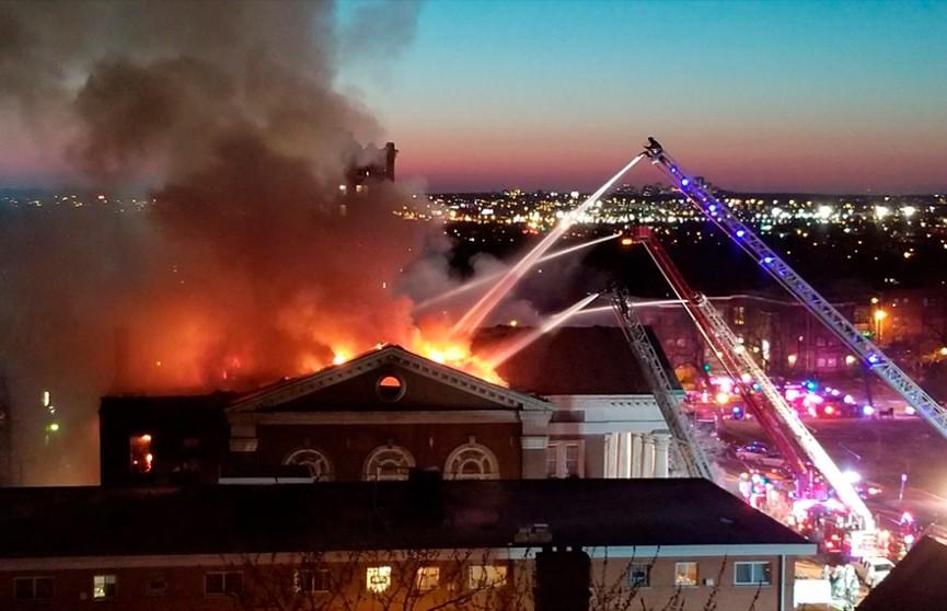 Музей с историческими рукописями горел в Миссури