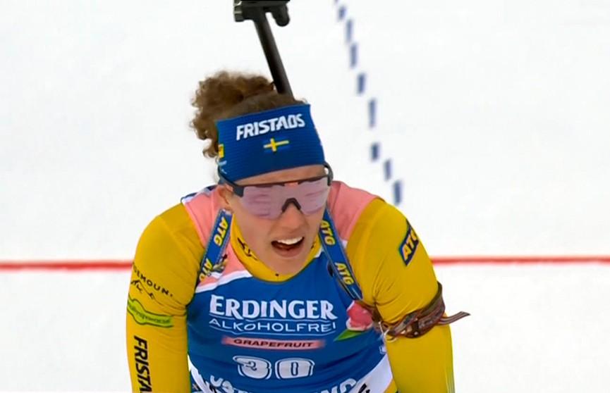 Ханна Оберг стала чемпионкой мира в индивидуальной гонке в Швеции