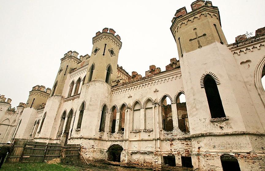 Начался второй этап реконструкции Коссовского замка