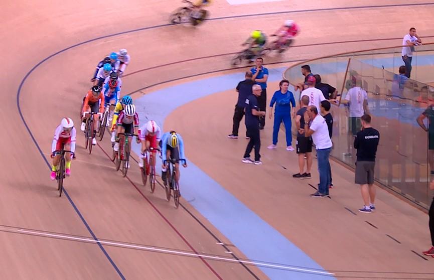 Белоруска Анна Терех заняла второе место на чемпионате Европы по велоспорту на треке