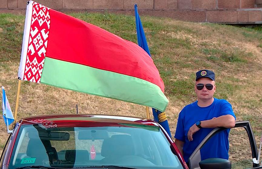 Союзный пробег ДОСААФ, посвящённый 75-летию освобождения Беларуси, стартовал в Москве