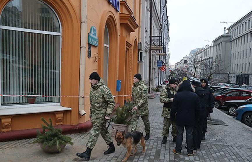 Аноним сообщил о минировании здания на улице Ленина в Минске