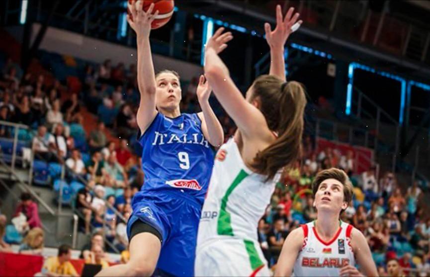 Белорусские баскетболистки уступили итальянкам в товарищеском матче