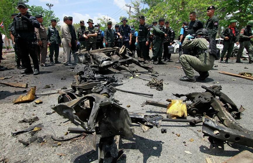 В Таиланде произошел взрыв. Пострадали более 20 человек