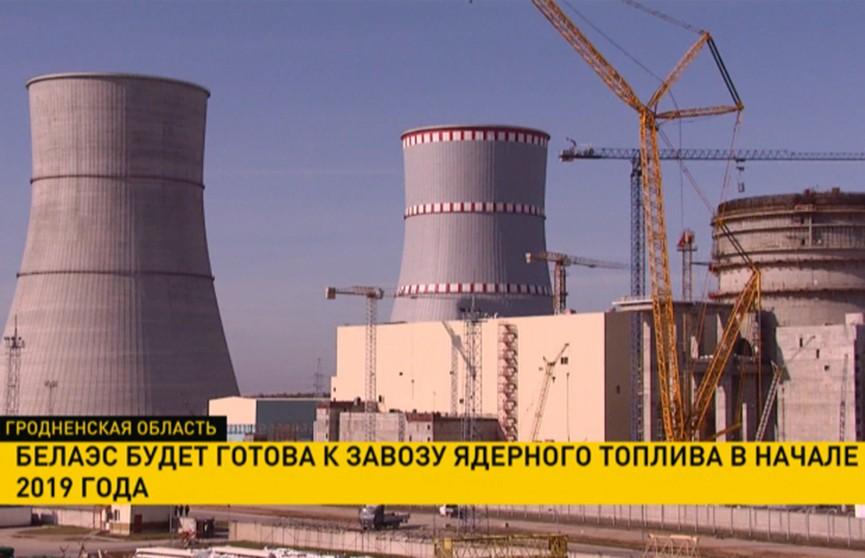 Ядерное топливо на БелАЭС доставят в начале 2019 года