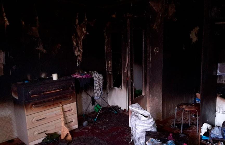 Сосед спас 4-летнего ребенка из горящей квартиры в Ивацевичском районе