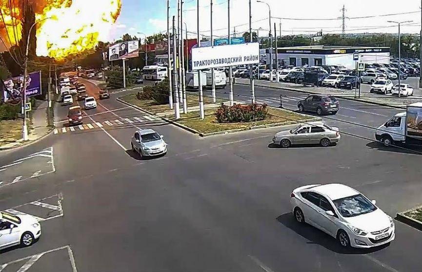 Взрыв газа на заправке в Волгограде: есть пострадавшие
