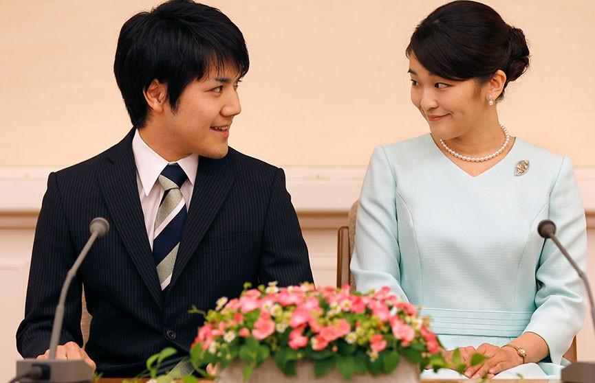 Свадьба принцессы Японии перенесена из-за финансовых проблем семьи жениха