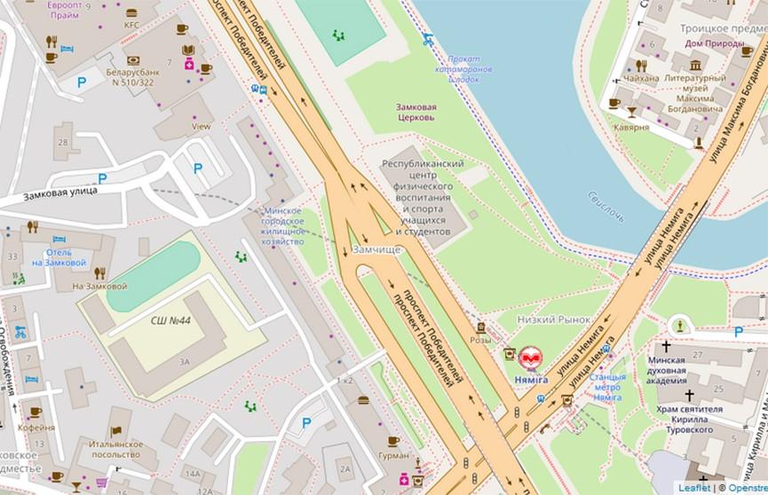 Движение на нескольких улицах Минска сегодня будет ограничено