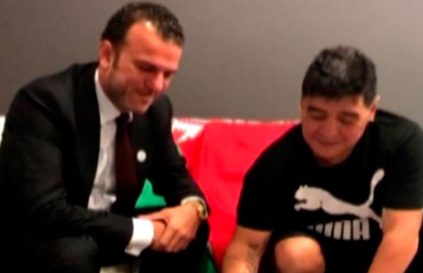 К нам едет Марадона: аргентинец посетит матч чемпионата Беларуси с участием брестского «Динамо»