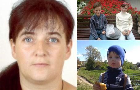 Пропавшая с тремя детьми жительница Пружан найдена в России