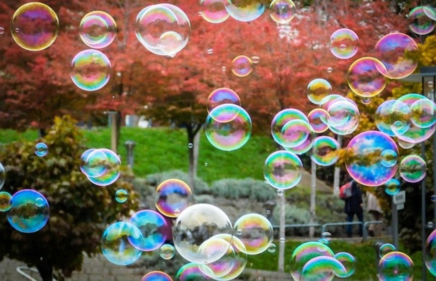 Физики создали сверхпрочные мыльные пузыри