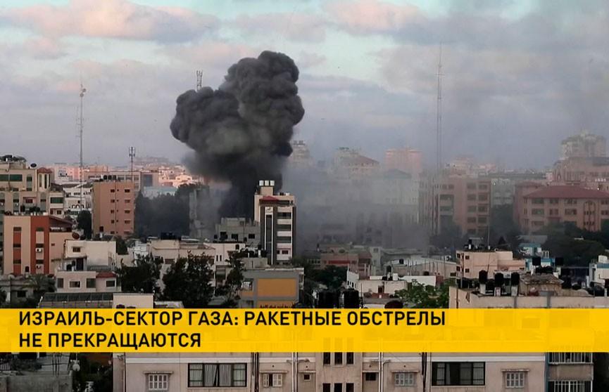 Возобновились ракетные обстрелы в секторе Газа