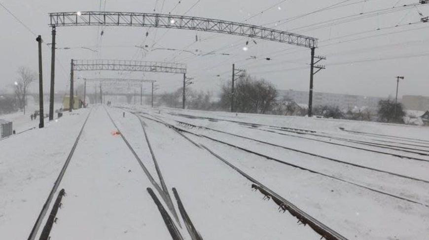 По факту смертельного наезда поезда на рабочих в Орше возбуждено уголовное дело