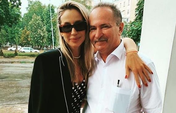 Лобода впервые опубликовала фото с отцом