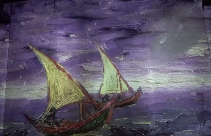 Ван Гог у мультымедыйным афармленні: у Парыжы адчыняецца лічбавая выстава твораў вядомага мастака