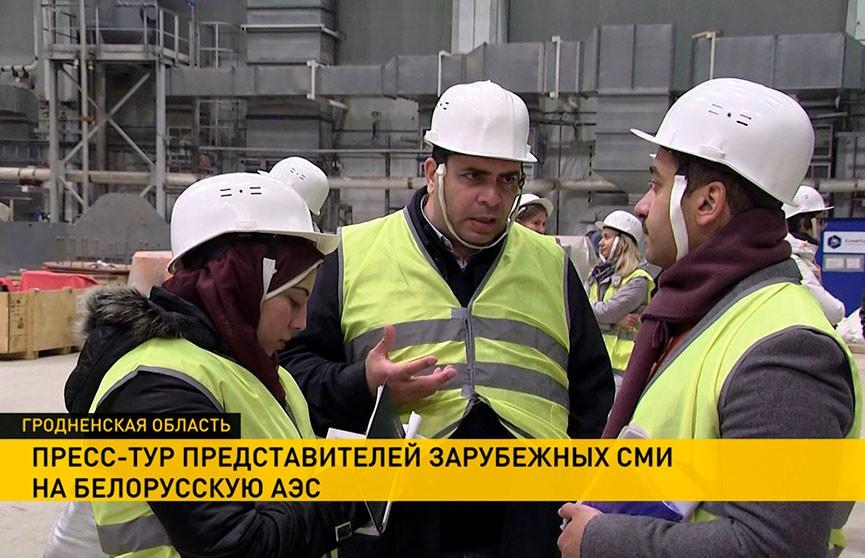 Строительство белорусской АЭС оценили журналисты из семи стран: первый энергоблок готов на 97%, второй – на 70%