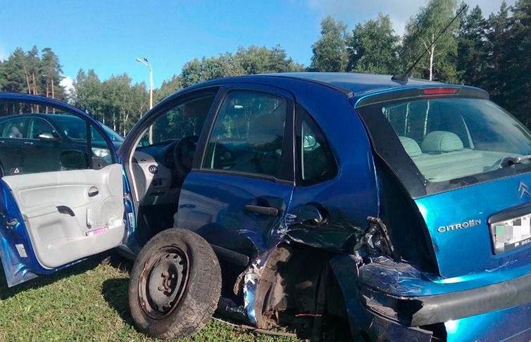 Три автомобиля столкнулись на МКАД