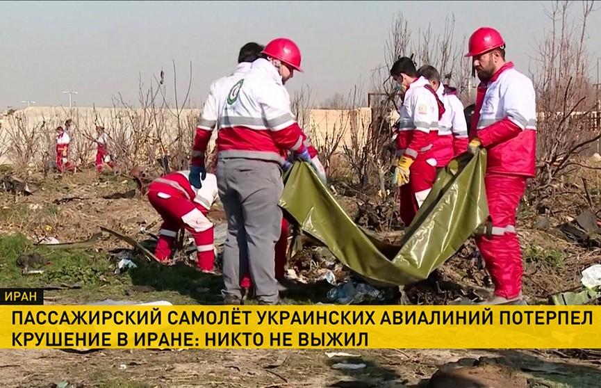 Крушение самолета украинских авиалиний в аэропорту Тегерана. Последние подробности трагедии