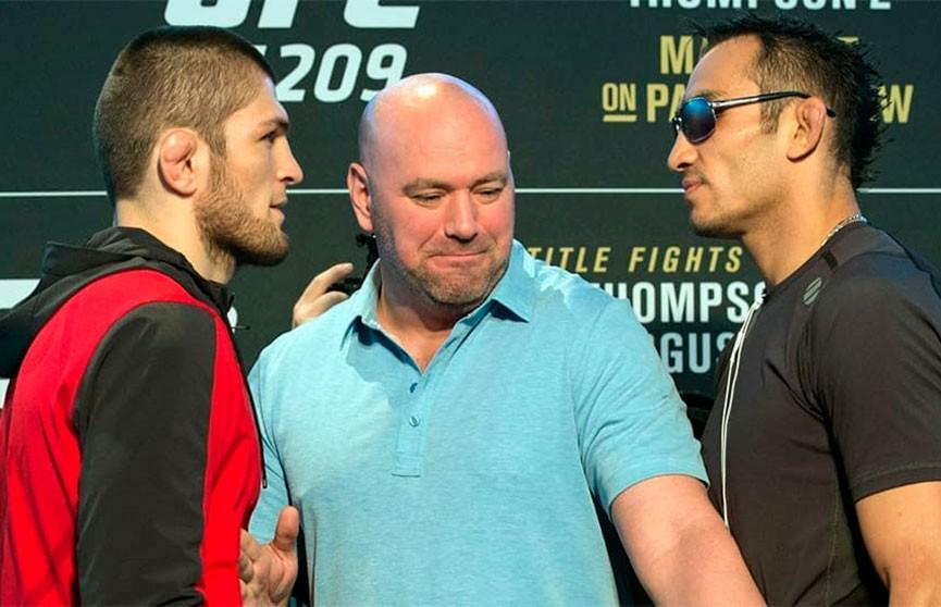 UFC: бой Хабиба Нурмагомедова и Тони Фергюсона пройдет при пустых трибунах