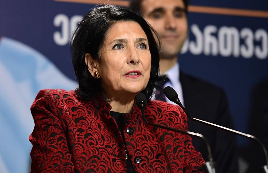 Президентские выборы в Грузии, подсчитано 99,7% голосов