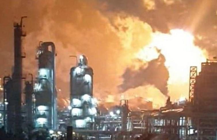 Взрыв на химическом заводе в Республике Корея: более 30 человек пострадали