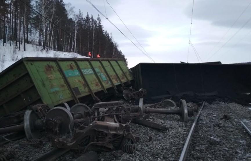 17 вагонов с углем сошли с рельсов в Челябинской области