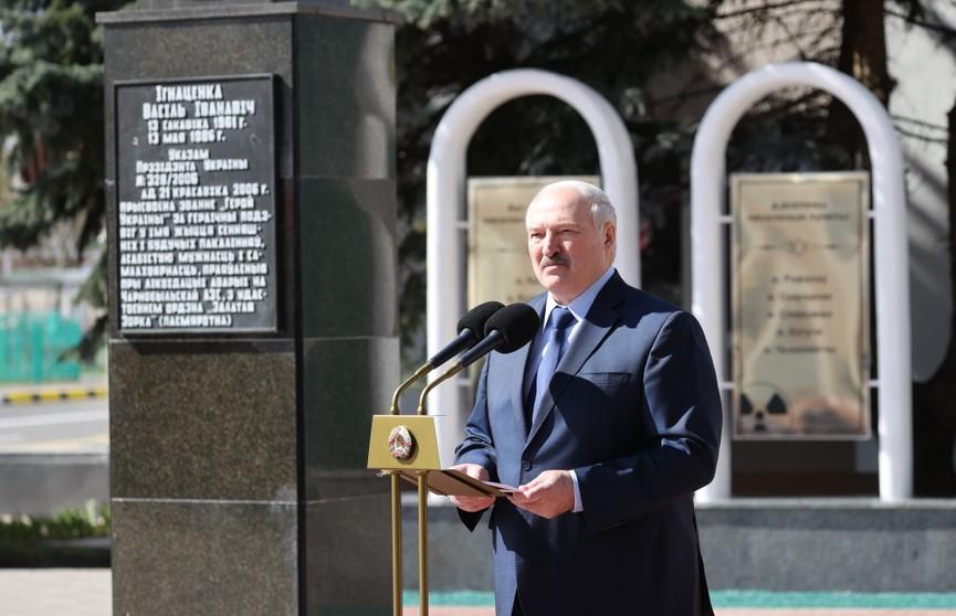Лукашенко в Брагине: Мы должны сделать всё, чтобы возродить эти земли