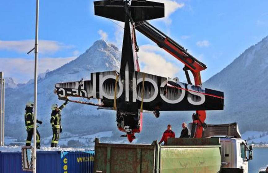 Авиашоу в Австрии закончилось крушением (Видео)