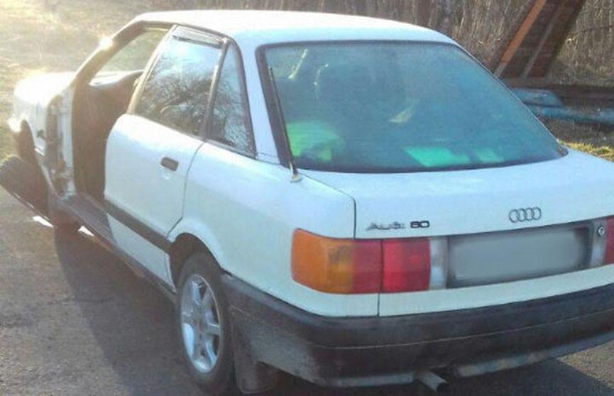 Несовершеннолетние разбили за вечер две машины в Городокском районе