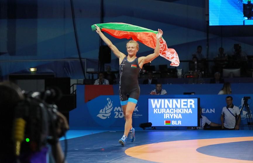 Белоруска Ирина Курочкина – третья в рейтинге Международной федерации борьбы