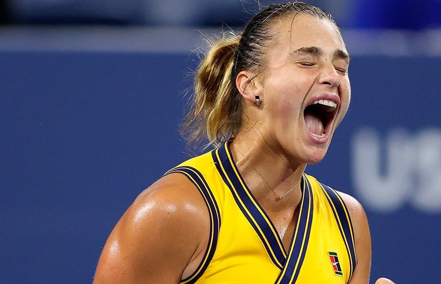 Арина Соболенко впервые в карьере вышла в четвертьфинал US Open