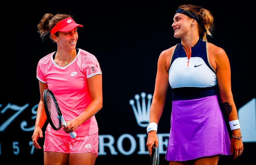 Арина Соболенко и Элиз Мертенс вышли в финал Australian Open