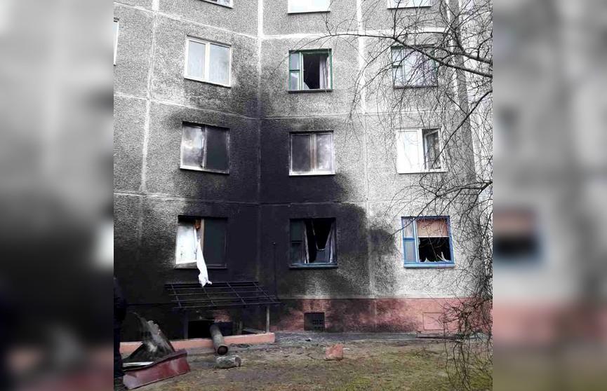 Газовый баллон взорвался рядом с жилым домом в Слуцке
