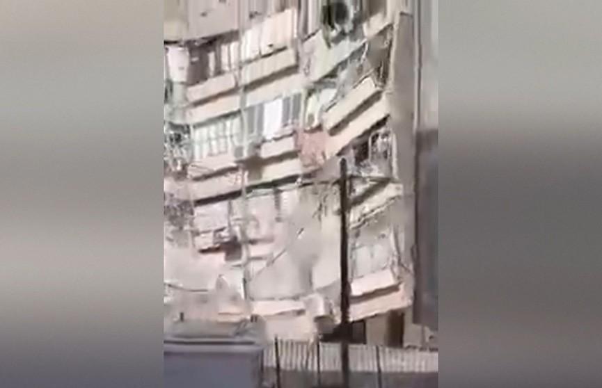Жилой дом рухнул в Израиле