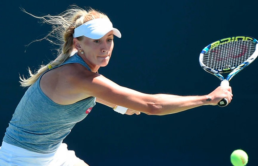 Теннисный турнир в Квебеке: белоруска Ольга Говорцова в первом круге была сильнее американки Кристи Ан