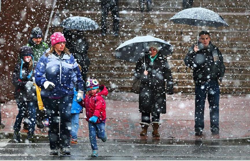 Прогноз погоды на 3 декабря: мокрый снег с дождём