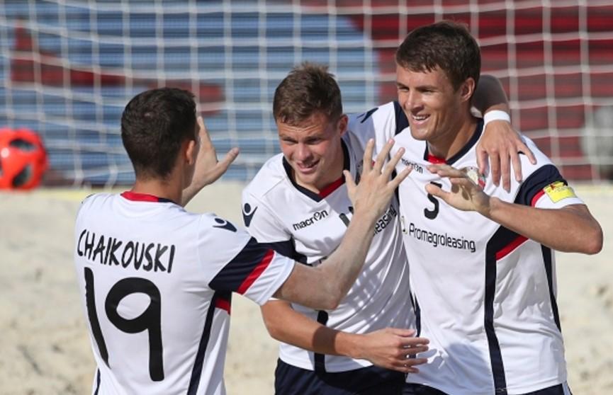 Сборная Беларуси по пляжному футболу заняла третье место на квалификационном турнире чемпионата мира