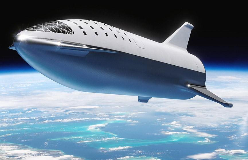 Space X испытала межпланетный корабль StarShip на огнеупорность (Видео)