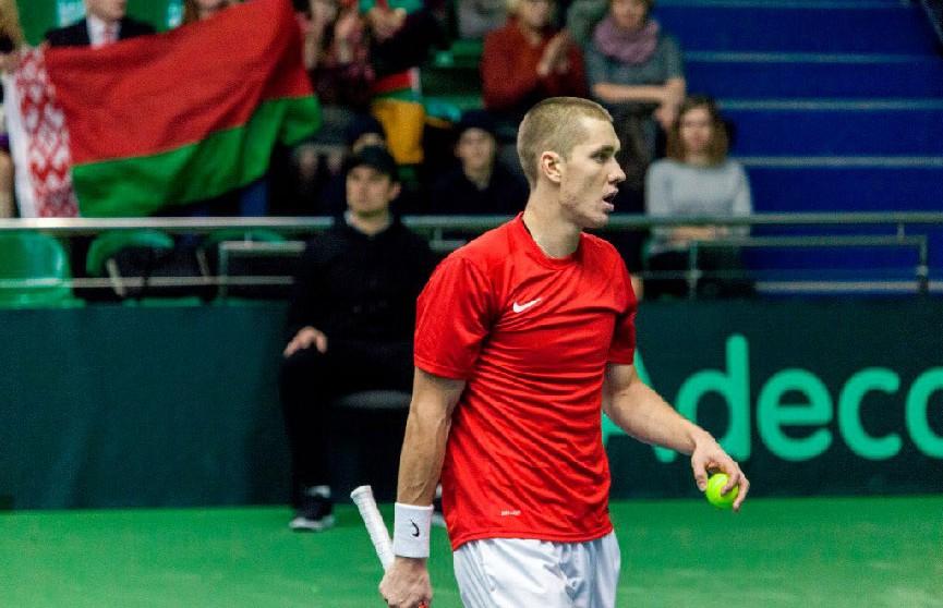 Кубок Дэвиса: Беларусь и Португалия сравняли счёт, Герасимов обыграл Соузу