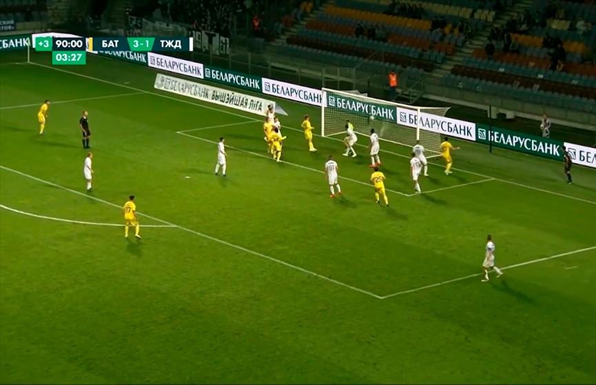 БАТЭ разгромил жодинское «Торпедо» в чемпионате Беларуси по футболу