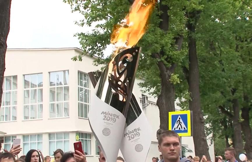 II Европейские игры 2019: «Пламя мира» в Мозыре