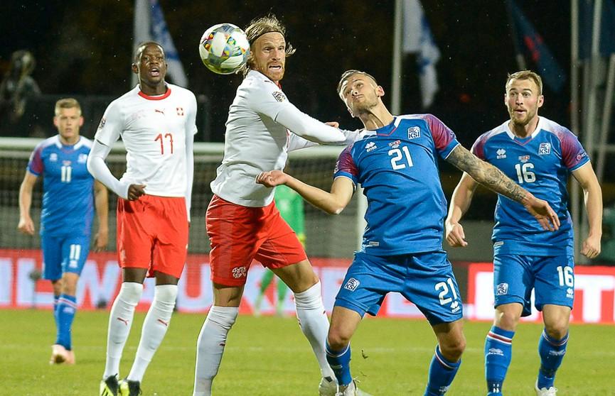 Команда Швейцарии обыграла сборную Исландии в Лиге наций