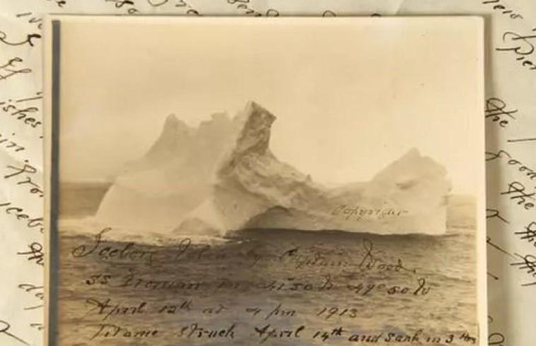 Обнаружен снимок айсберга, который мог потопить «Титаник»