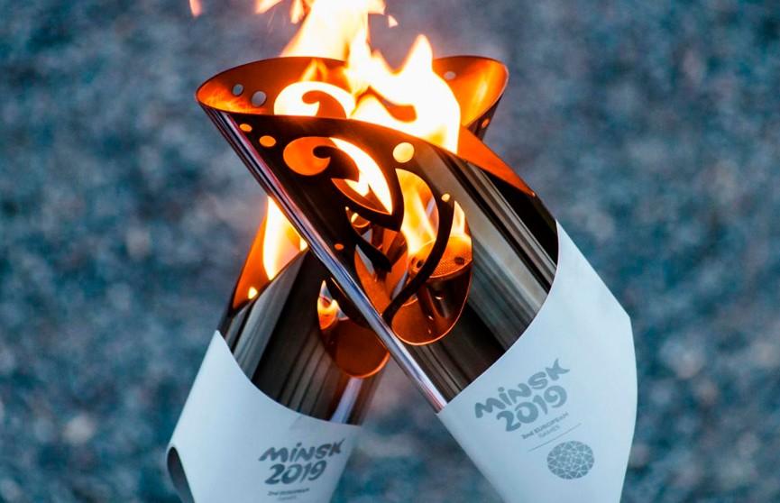 Огонь II Европейских игр сегодня прибудет в Барановичи